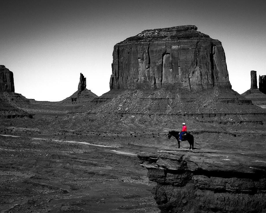 Arizona, Monument Valley Navajo Tribal Park, John Ford Point