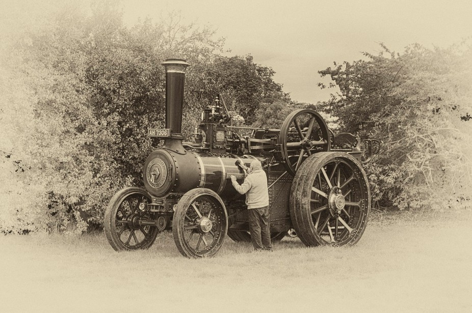 """Burrell General Purpose Engine, 3882 """"The Lurcher"""" - Built in 1921, AH 7306"""