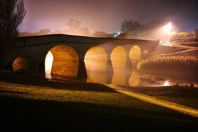 The Richmond Bridge by ExpeditionOutdoors - Bridges In The Night Photo Contest