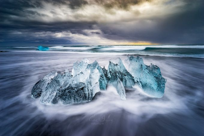 Smoking Ice by AlexGaflig - The Magic Of Moving Water Photo Contest