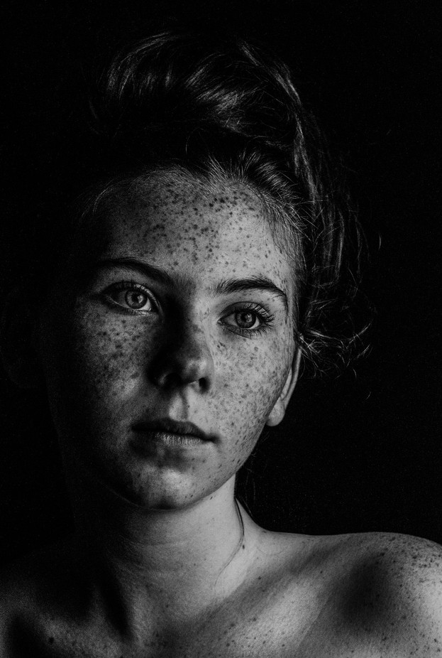 Lightest Dark by CatalyticCamera - Black And White Female Portraits Photo Contest