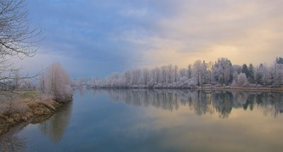 Frosty Fort Langley