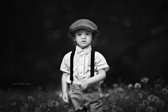 Boyhood by pattyschmitt - Monochrome Creative Compositions Photo Contest