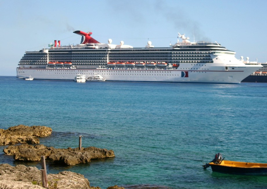 Carnival Miracle at Grand Cayman