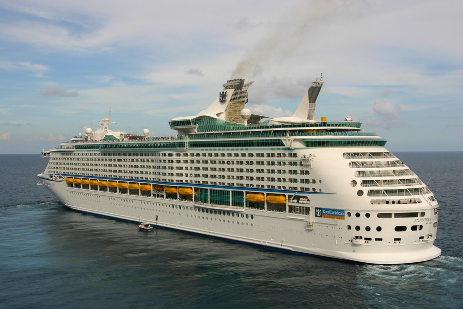 Explorer of the Seas departing Costa Maya