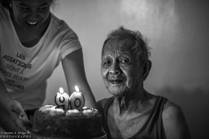 Grandfather's 90th Birthday  by tinoskiee
