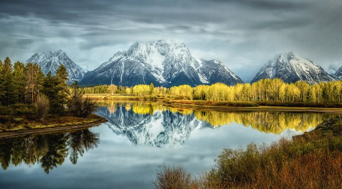 Oxbow  Bend 2-1 by garyhunter_6788 - Fall 2017 Photo Contest