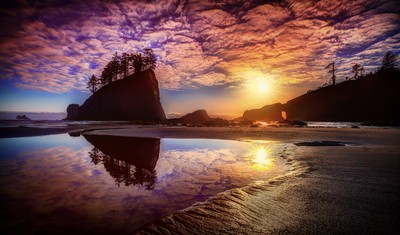 Reflections of a Sunset