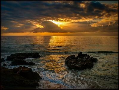 Moonstone Sunset