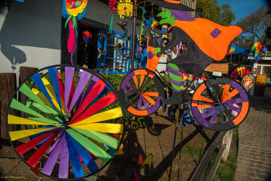 The colors on these kites are so attractive it caught my eye when walking through the boardwalk a...