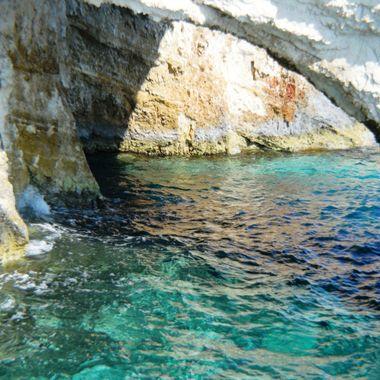 Blue Cave on Zakynthos.