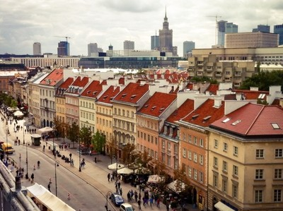 Old Warsaw Town street