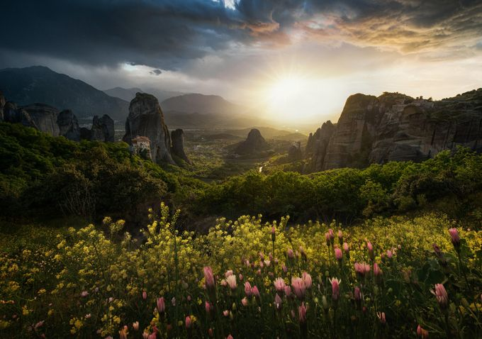 The spring by swqaz - Sunrise Or Sunset Photo Contest