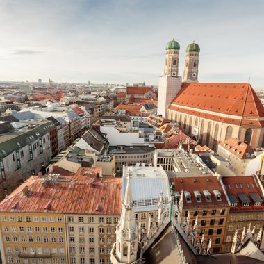 Frauenkirche from New Town Hall
