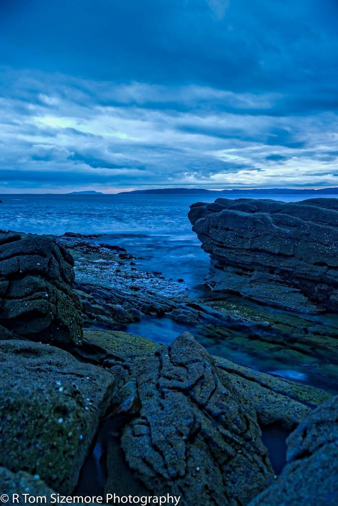 Engul, Isle of Skye, Scotland in May.  Just after sunset.