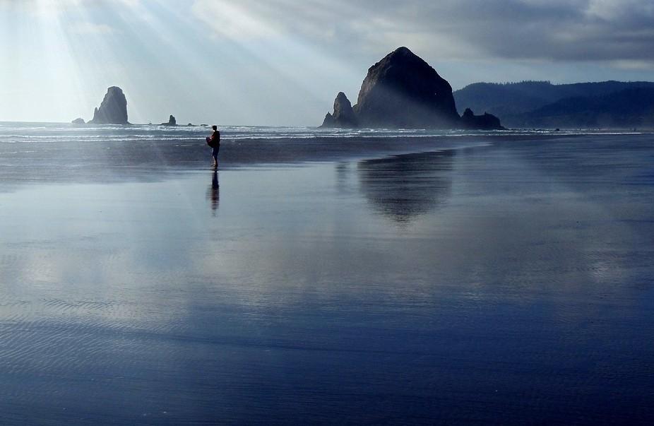 Canon Beach in Oregon