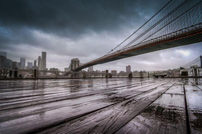 Rainy day in Brooklyn by dyanpratt - Boardwalks Photo Contest
