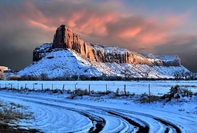Snow in the High Desert