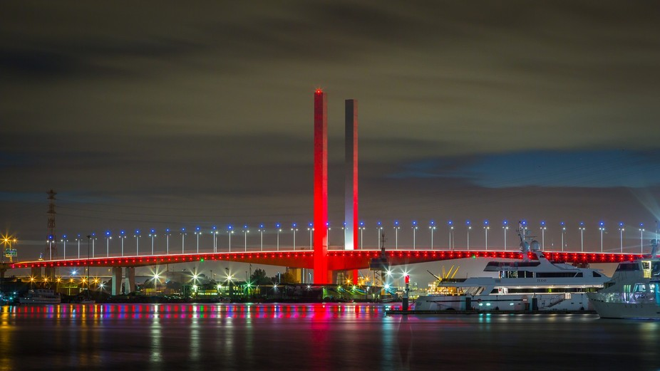 Bolte Bridge Anzac Day