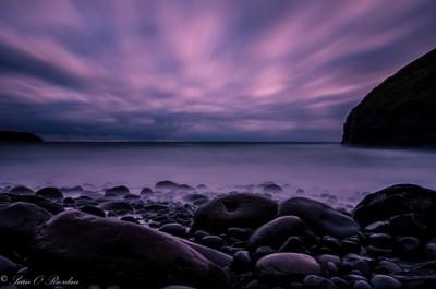Irish seascape long exposure