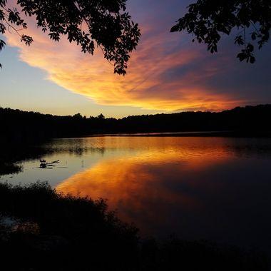 Springfield Lake Sunset1