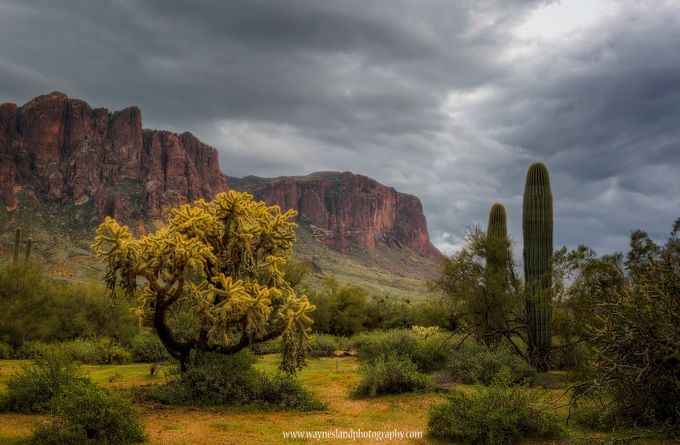 Rainy Superstition by wayneslandphotography - Sweeping Landscapes Photo Contest