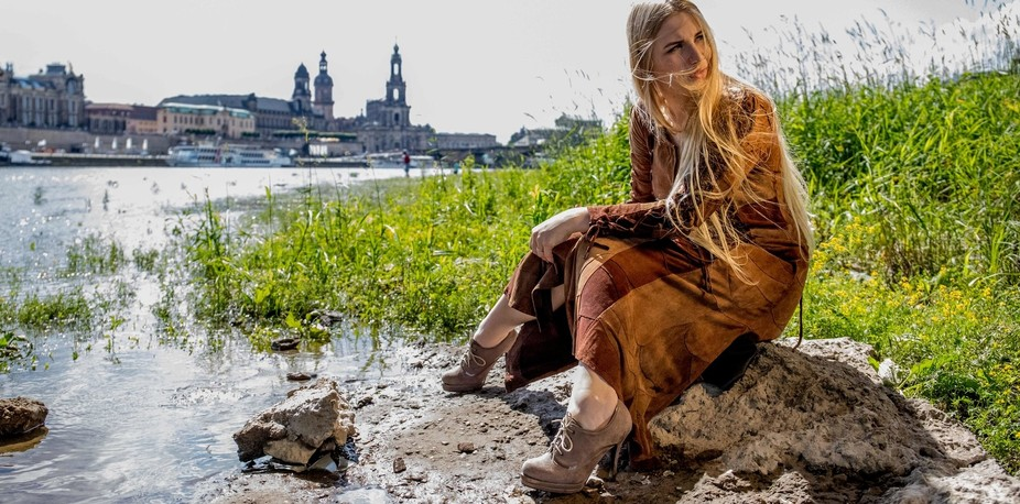 I shot this one alongside the Elbufer in Dresden  for a german fashion designer. It's pa...