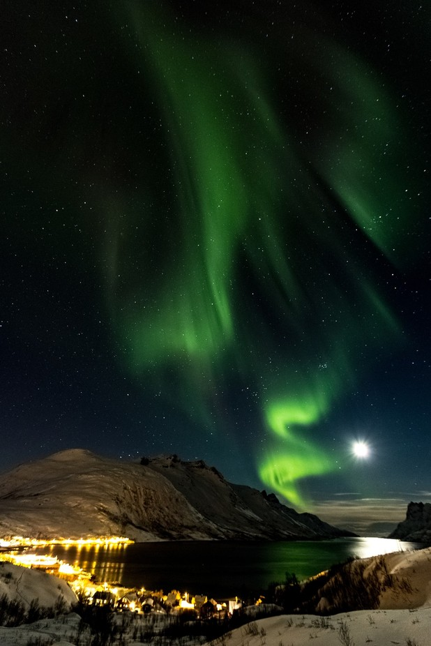 Magical Northern Lights by DamianHadjiyvanov - The Moonlight Photo Contest