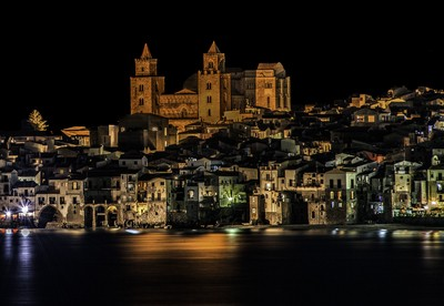 Cefalu by Night