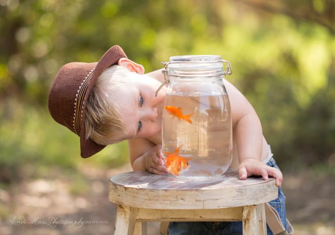 Fishy Mini's-10 by lindibeckett - Kids With Props Photo Contest