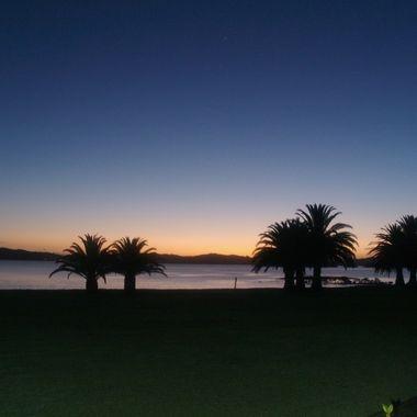 Dawn at New Zealand's North shore