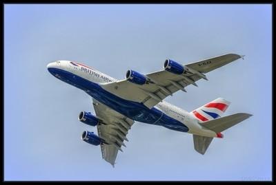 British Airbus A380