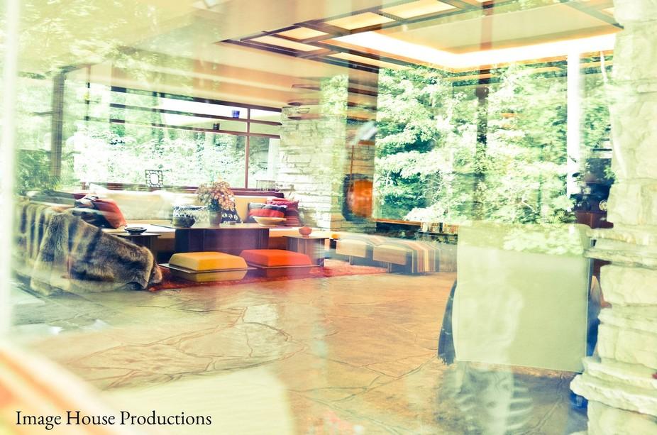Falling Waters - Living Room