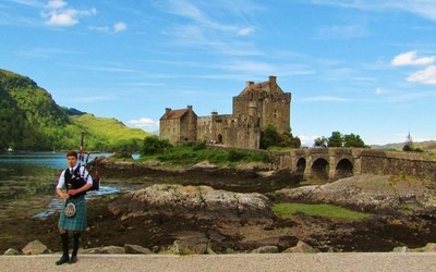 Glen Shiel - Eilean Donan Castle