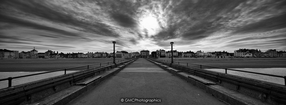 Deal Pier Panorama 2