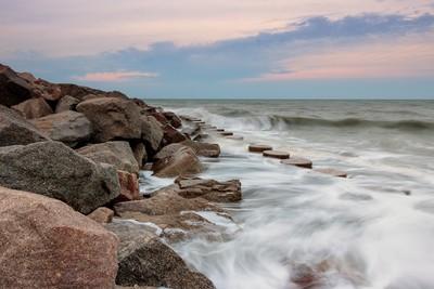 Sea Wall waves