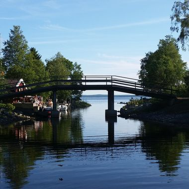 I took this photo last year (2015) in July when we were visiting friends in Sweden.