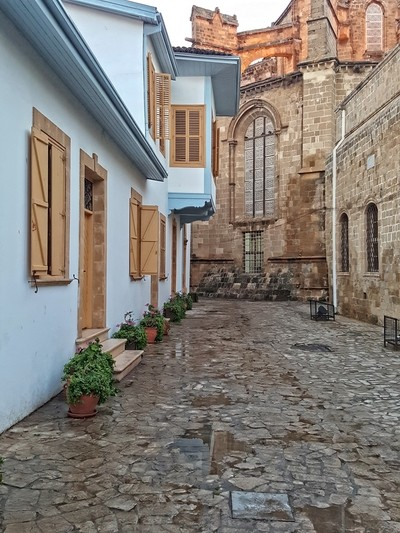 A street in North Cyprus, 2016