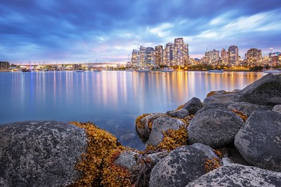 Vancouver at blue hour