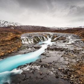 Bruarfoss on Iceland