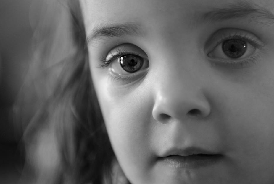 Innocence in the eyes