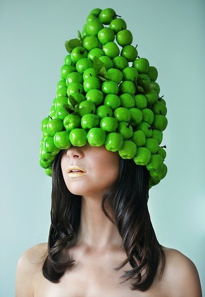 En forme de pommes