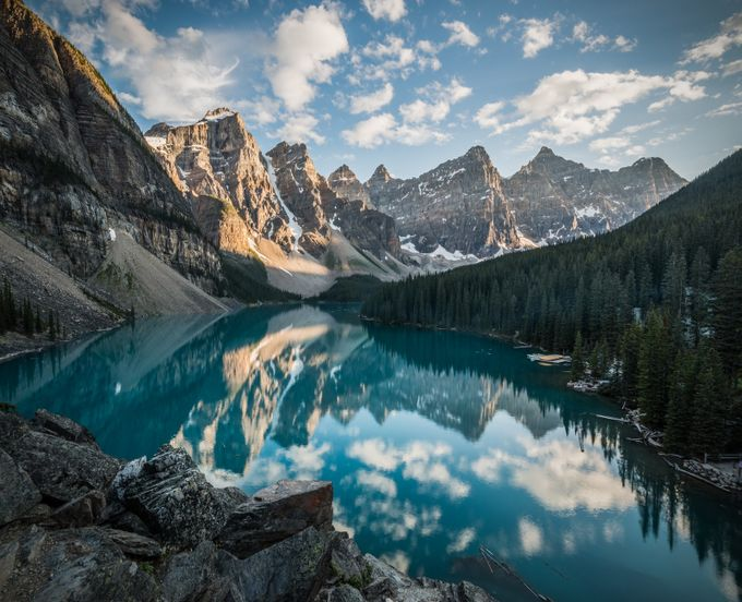 Moraine Lake by tomhill_photography - A World Of Blue Photo Contest