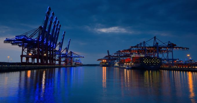 Port of Hamburg by lmr337 - Industry Photo Contest