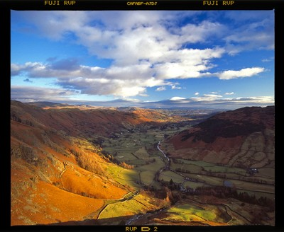 Scan from transparency: New Year's Day 2006, Cumbria, England