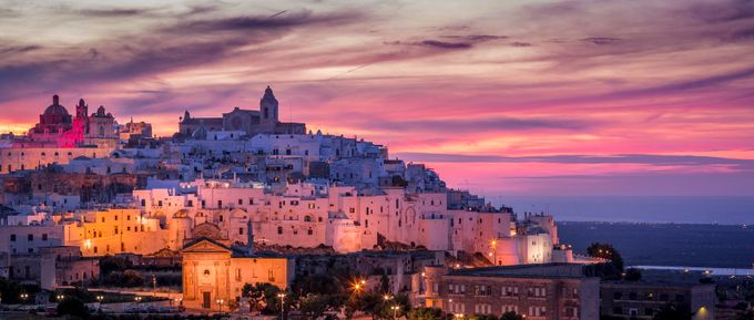 Ostuni Summer Sunset  by Merakiphotographer