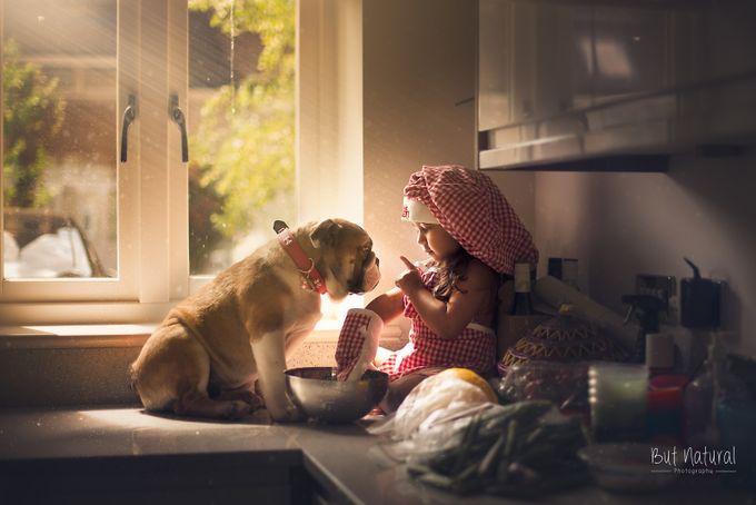 I said NO! by sujatasetia - Kids And Pets Photo Contest