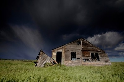ominous house