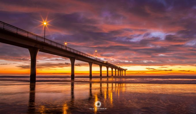 Sunrise at New Brighton by shaun_denholm - Color Theory Photo Contest