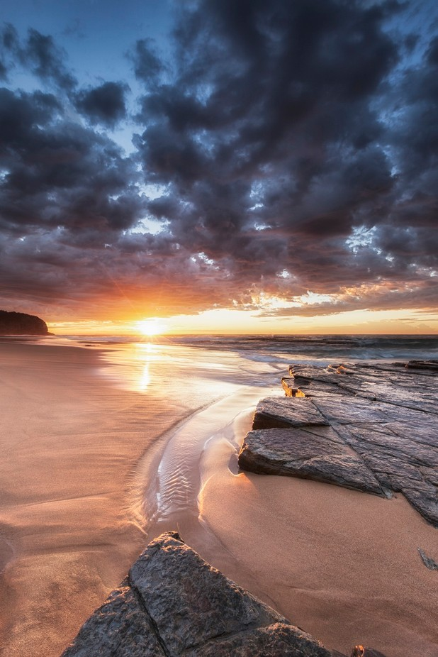 Of Tides and Sunrise by njephotography - Landscapes And Sand Photo Contest